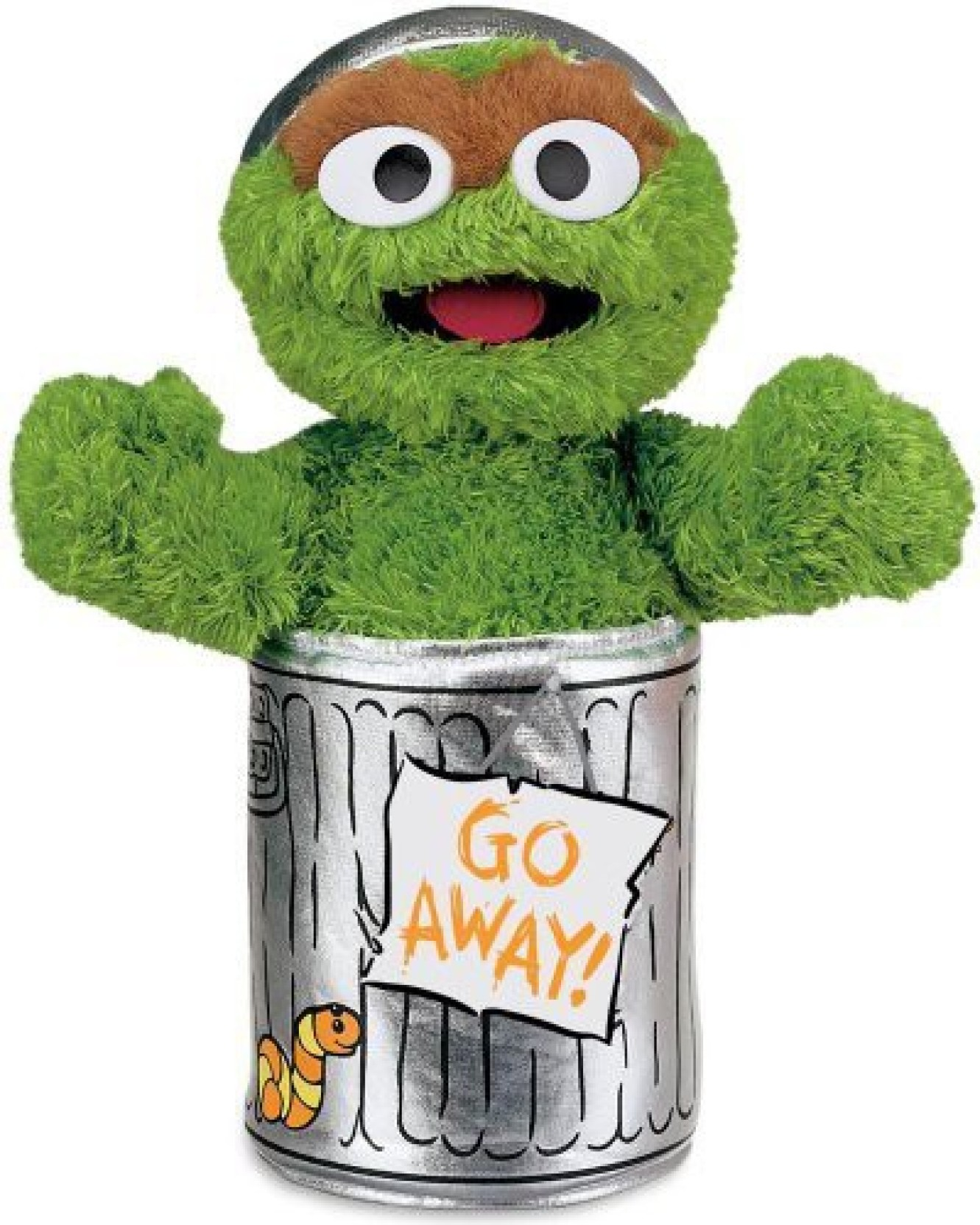 Gund Sesame Street Oscar The Grouch Stuffed Animal 25 Inch