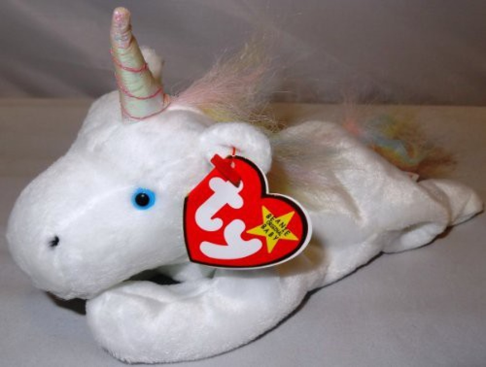 0ec98b4e657 ty Beanie Ba Mystic The Unicorn   Rainbow Mane   - 8 inch - Beanie ...