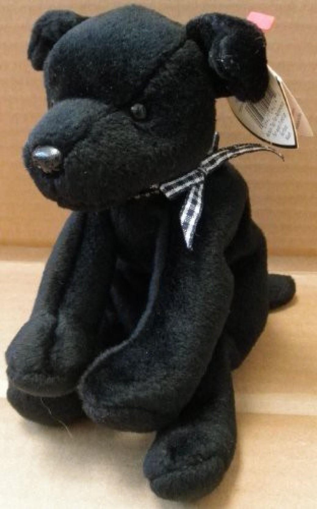 Ty Beanie Baby Black Dog 52be3e529028