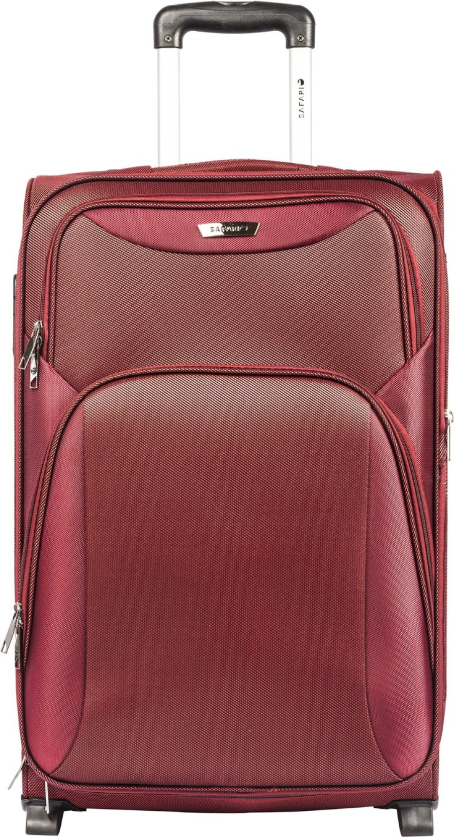 5157061395d Safari Water resistance 2 Wheel Trolley Bag Expandable Cabin Luggage - 22  inch. Share