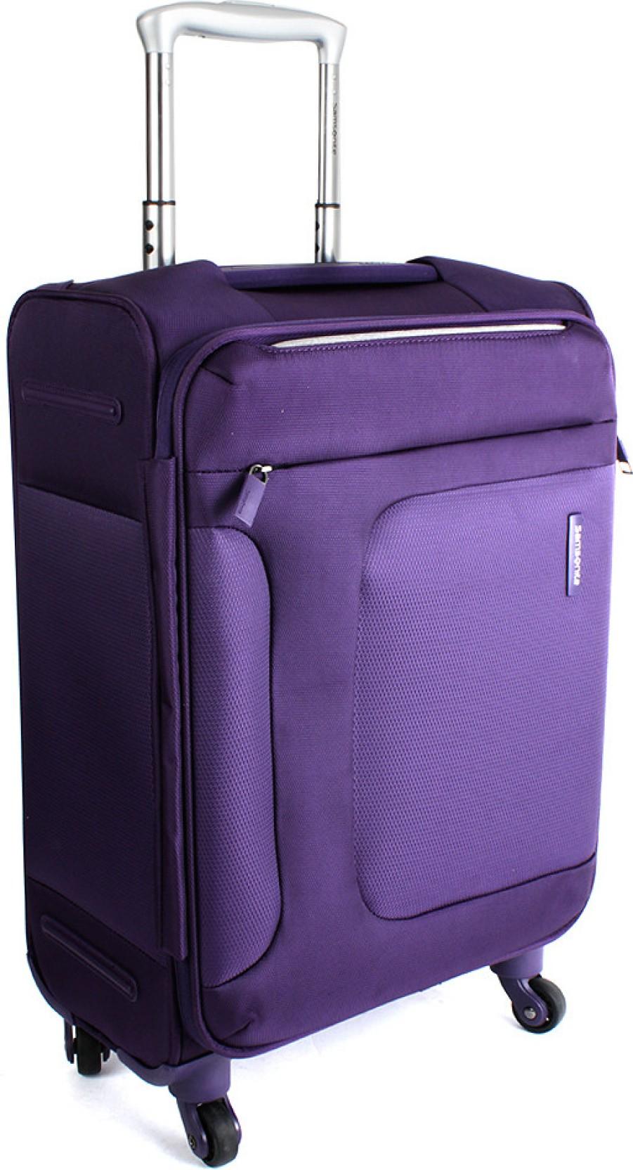 Samsonite asphere cabin luggage 18 inches purple price for Samsonite cabin luggage