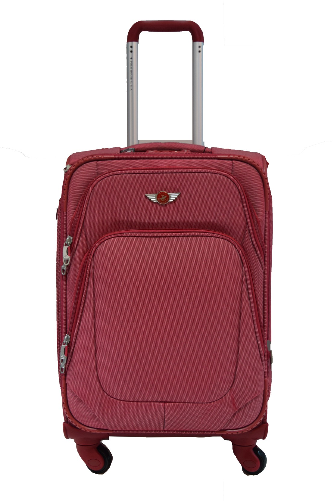 28ddf573b27 Polo House USA 8669s Expandable Check-in Luggage - 28 inch Red ...