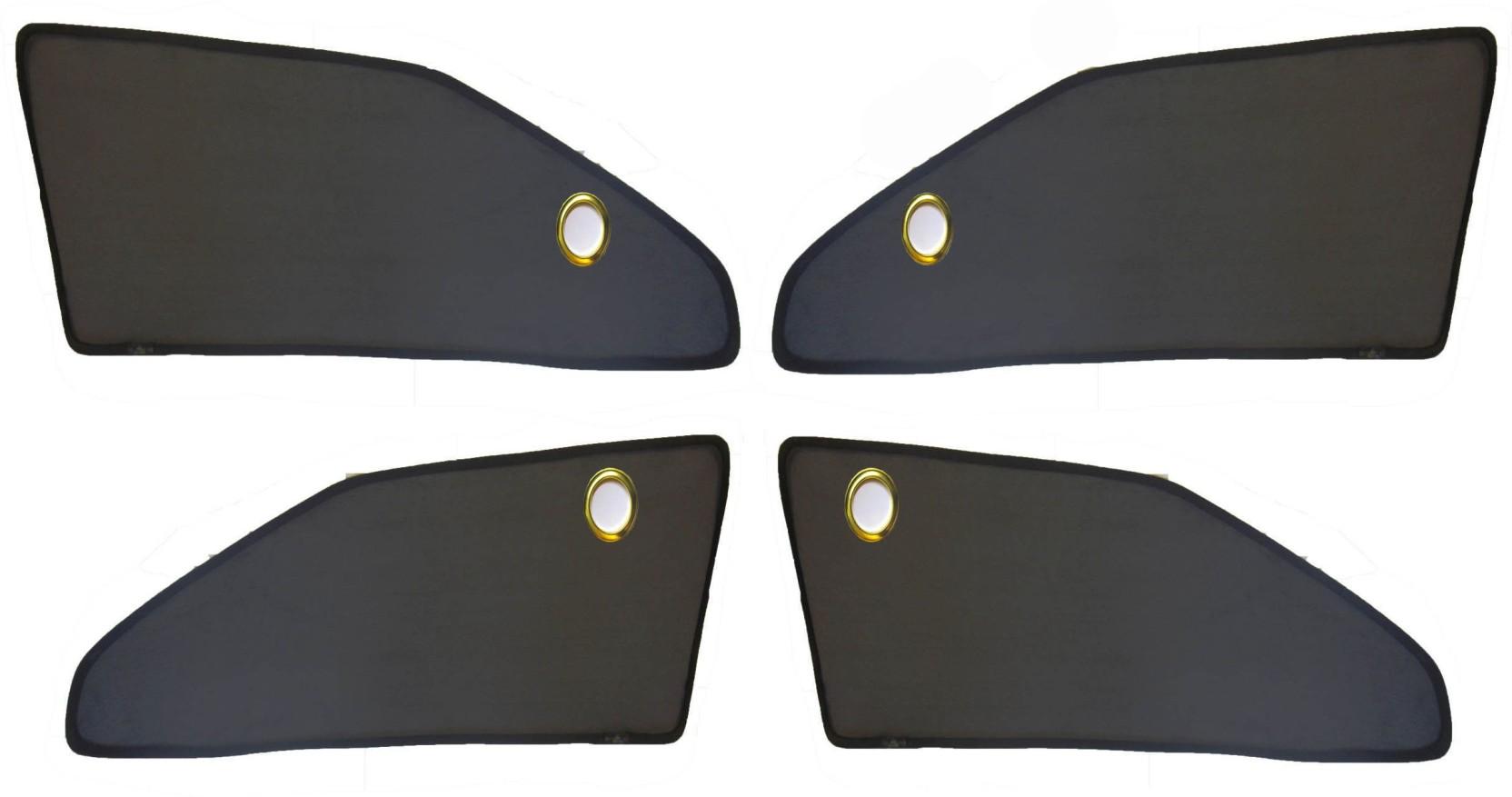 MAGNET Side Window Sun Shade For Maruti Suzuki Zen (Black)