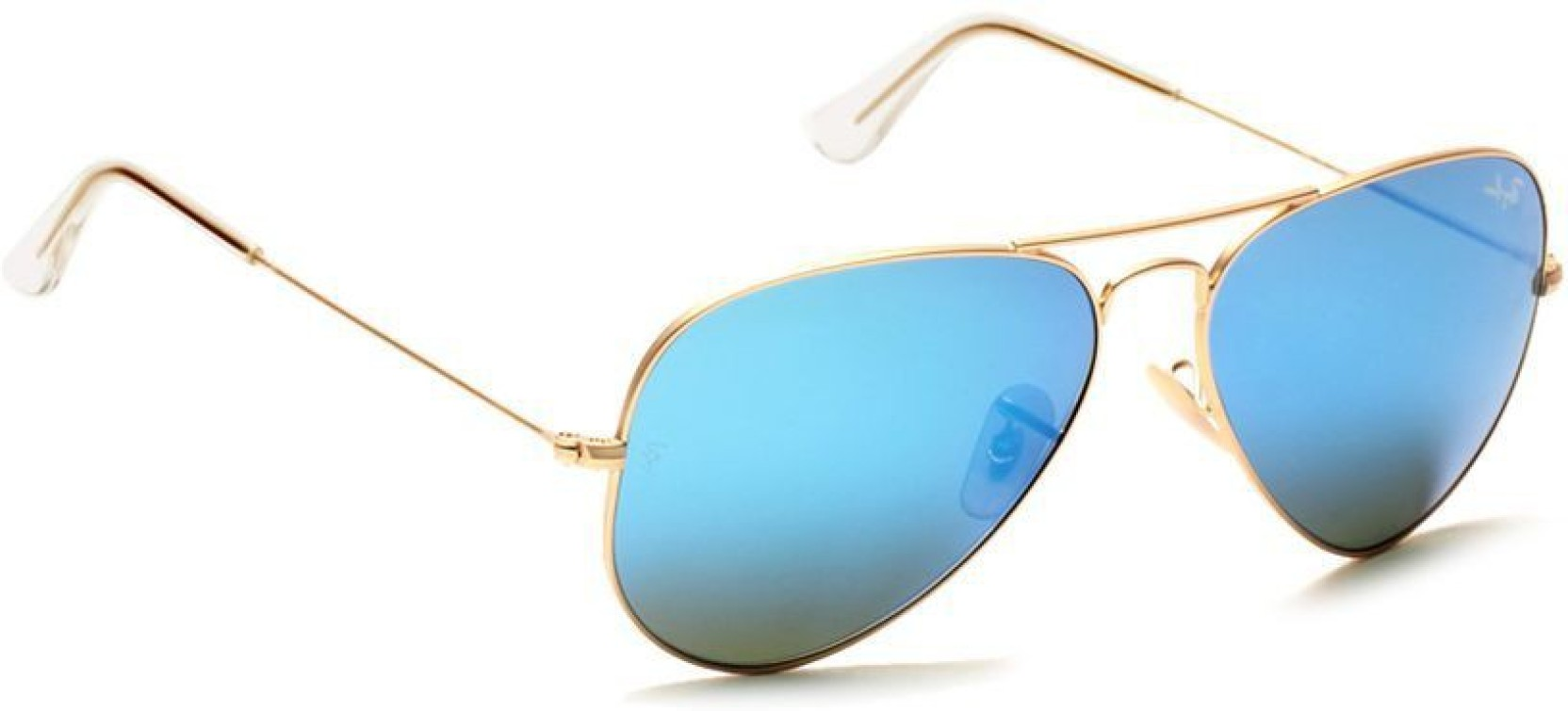 cb5fb49f5a Buy RB Aviator Sunglasses Blue For Men   Women Online   Best Prices ...