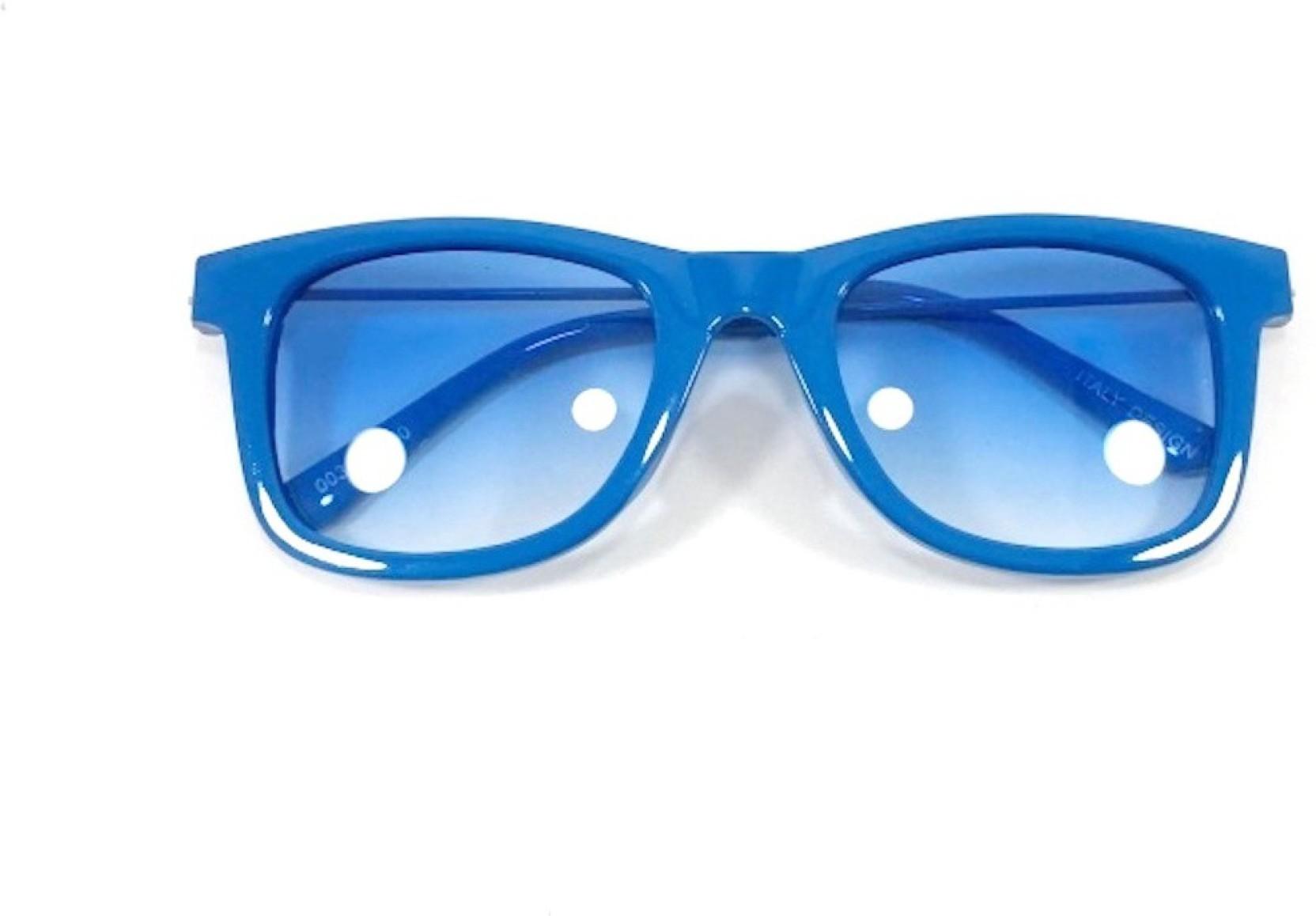 999fead7c43 Buy kidofash wayfarer sunglasses blue for boys girls online best jpg  1664x1158 Plain blue sunglasses