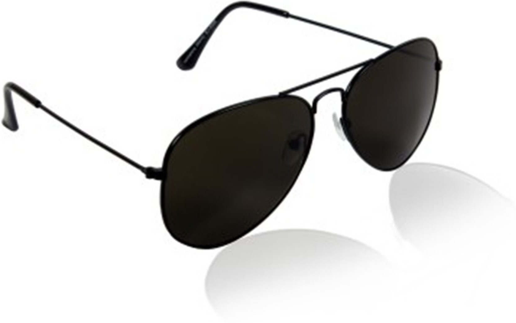 Buy Younky Aviator Sunglasses Black For Men Online @ Best ...