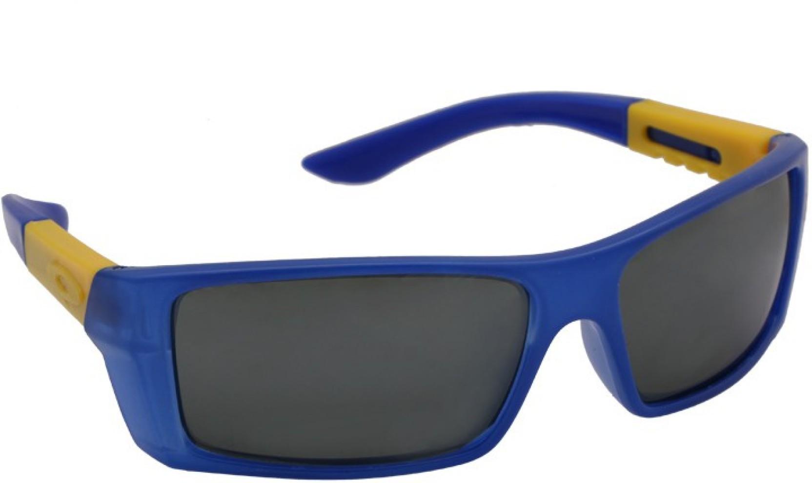 e39034062c Buy Marco Polo Rectangular Sunglasses Grey For Boys   Girls Online ...