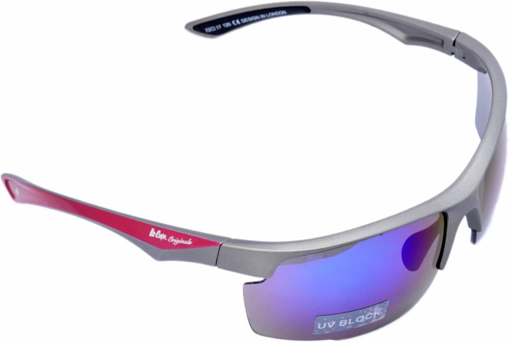 ba8c92b89fb Buy Lee Cooper Sports Sunglasses Blue For Men Online   Best Prices ...
