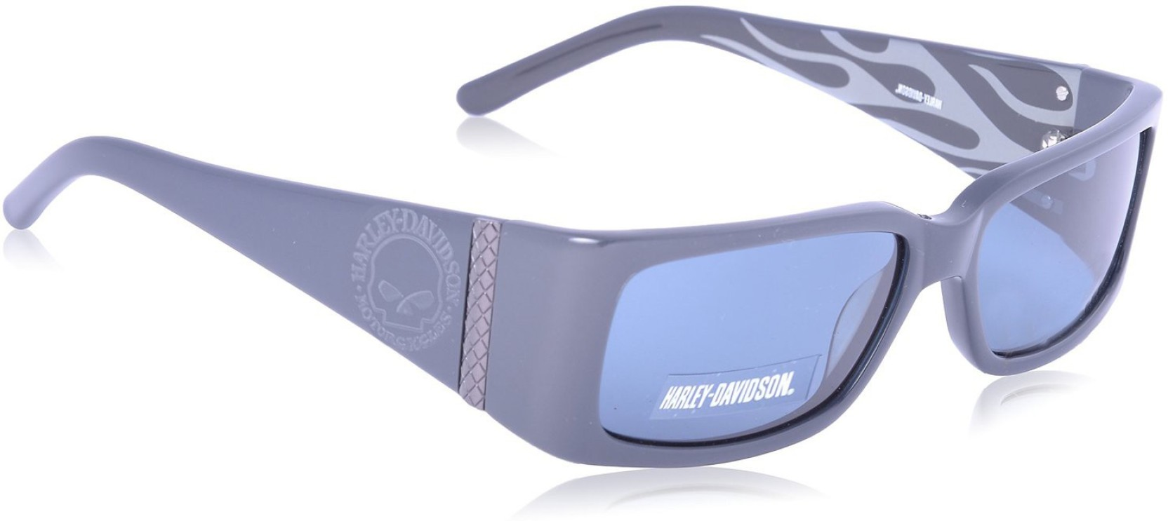 b49050058ef Buy Harley Davidson Rectangular Sunglasses Blue For Men Online ...