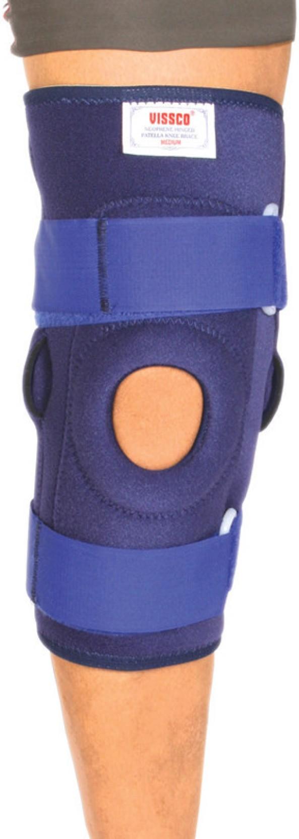 4e052f84c0 Vissco Neoprene Hinged Stabilizer Knee Support (L, Blue). ADD TO CART