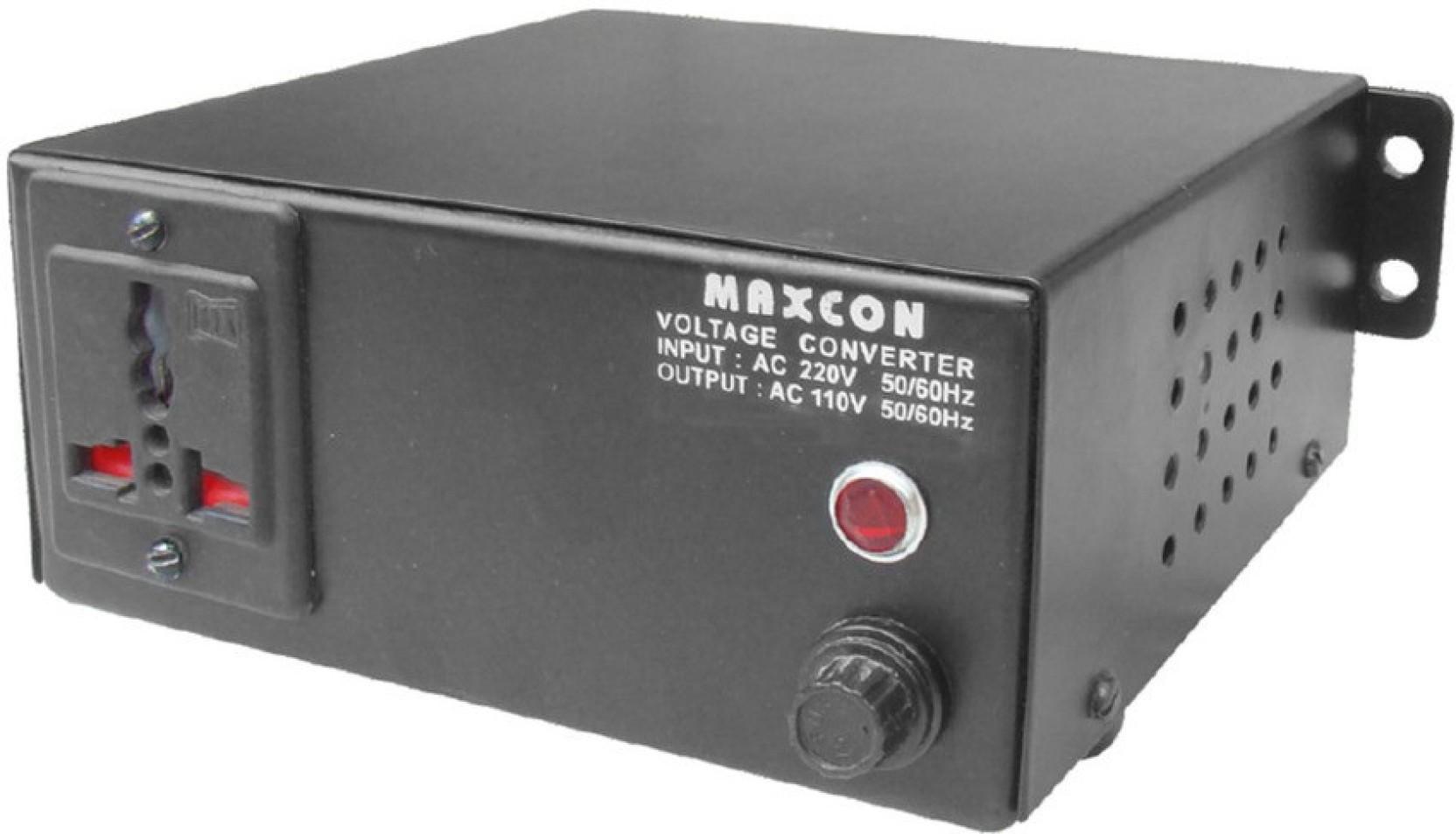 Mx 220v To 110v Voltage Converter  500 Watts  1 Socket Surge Protector Price In India