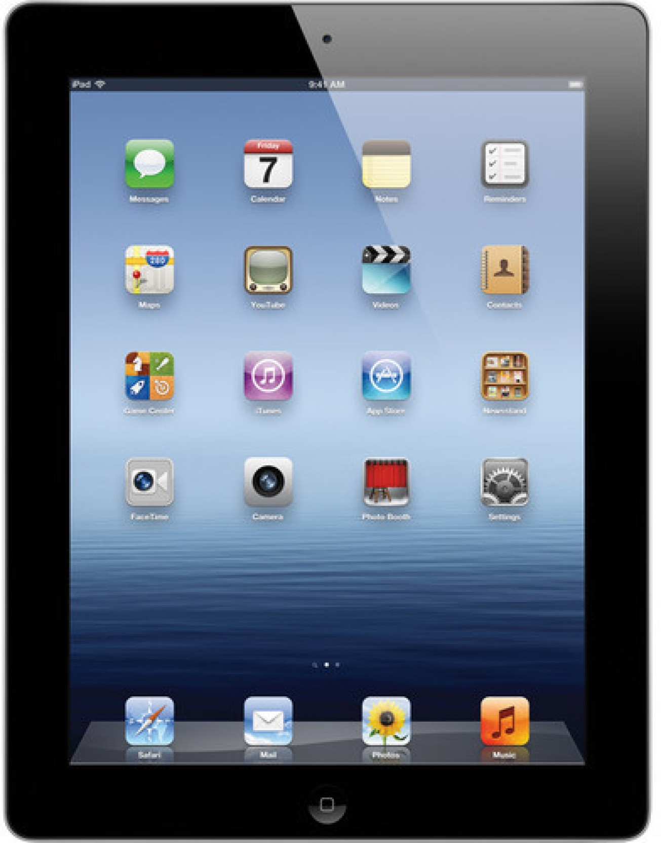 Apple Ipad 4th Gen 16 Gb 97 Inch With Wi Fi Only Black Price In Hp Slate 7 Voicetab 3g Silver Compare