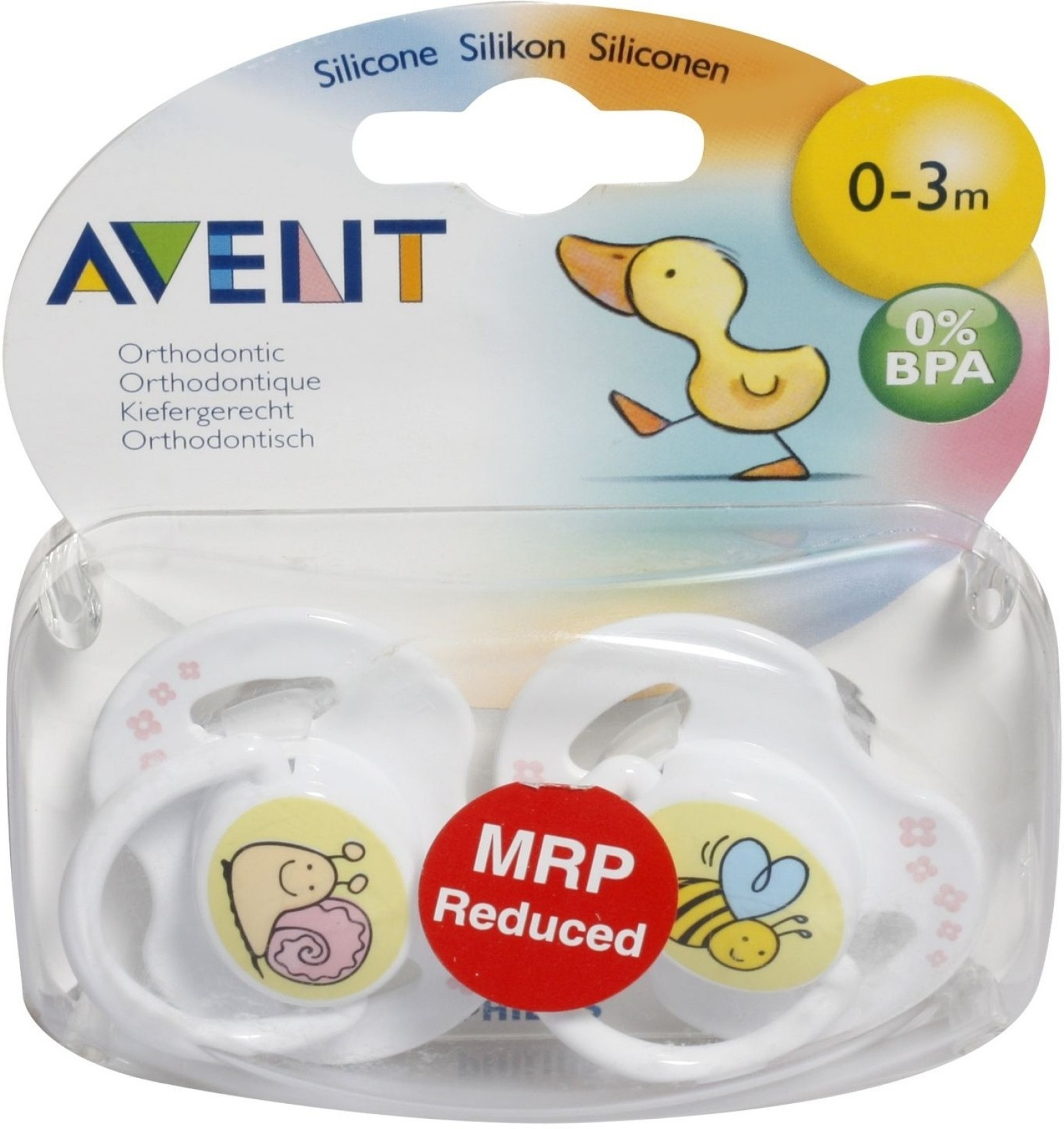 Buy Philips Avent Soother For 0 3 Months Baby In India Single Freeflow 6m White Fashion Pacifiers Share