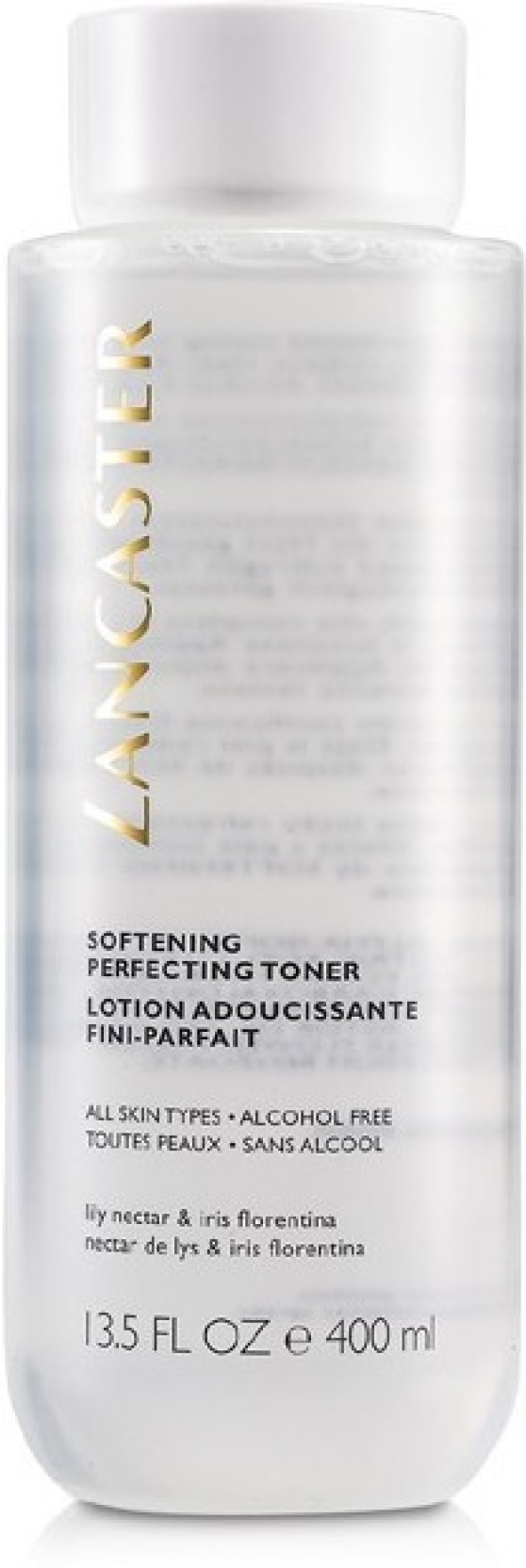 Lancaster - Softening Perfecting Toner Alcohol-Free - For All Skin Types -400ml/13oz Medix 5.5 Vitamin C Serum with Hyaluronic Acid, Ferulic Acid and Bulgarian Rose.  Anti-aging Serum for Wrinkles, Dark Spots, Skin Discoloration, and Dry Skin.  Large bottle with pump 2 Fl Oz (59 mL)