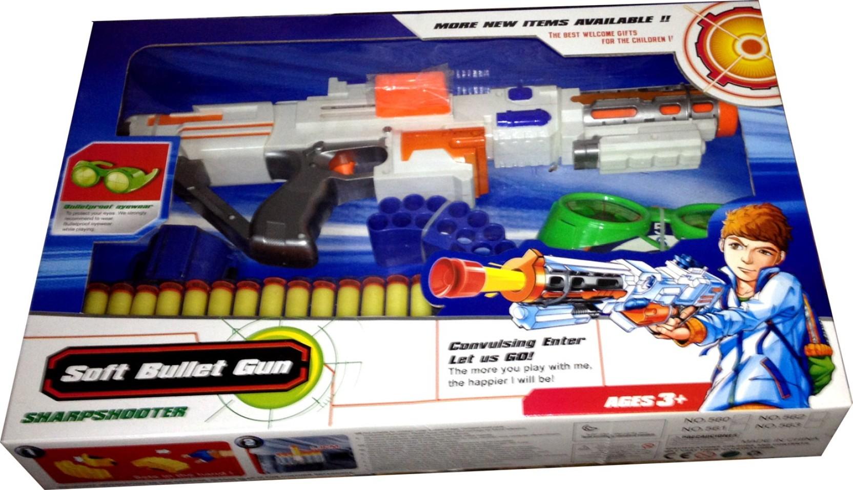 Toyzstation Sharp Shooter Soft Bullet Gun Share