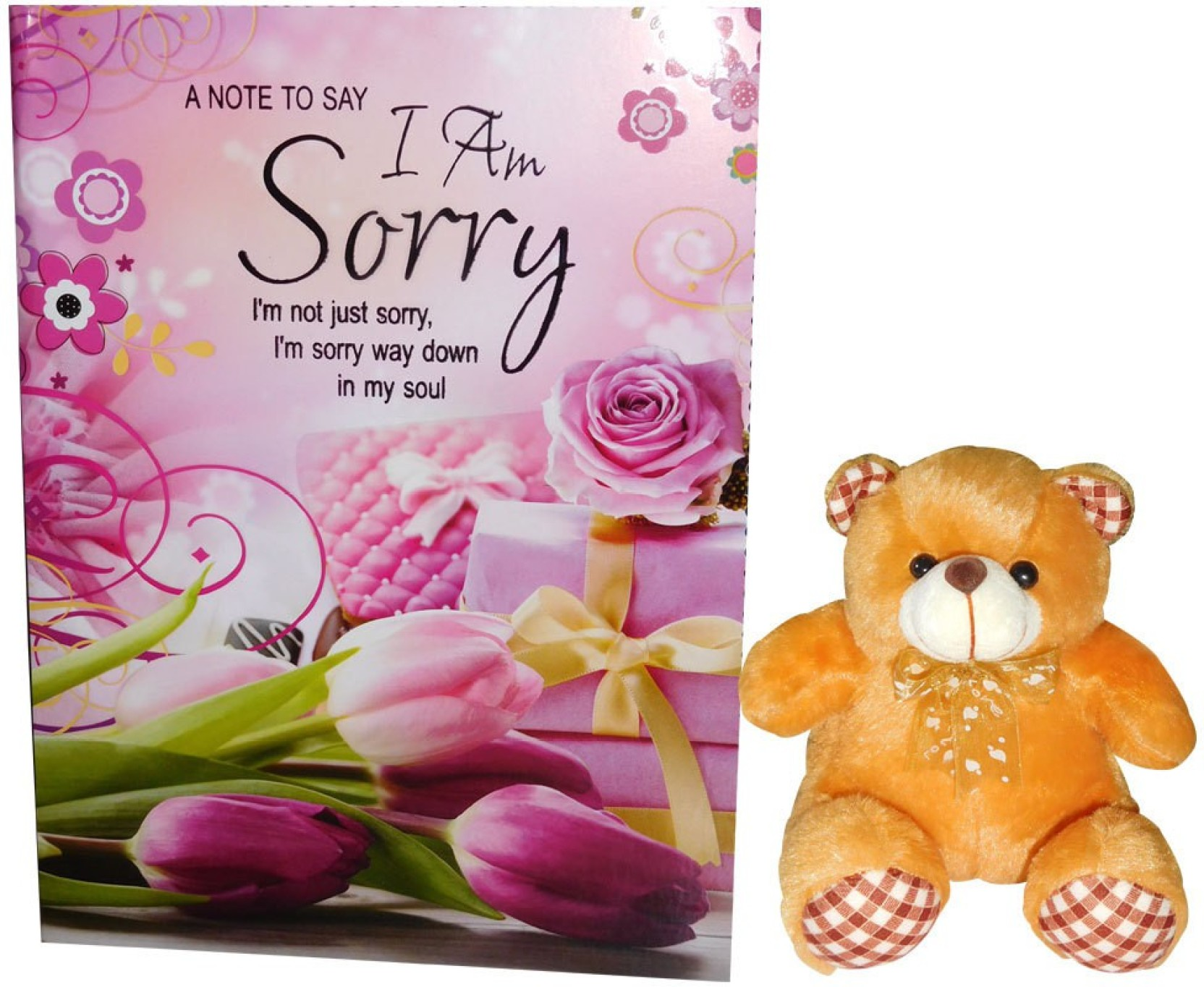 Siddhi Gifts Sorry Cards Greeting Card Gift Set Price In India Buy