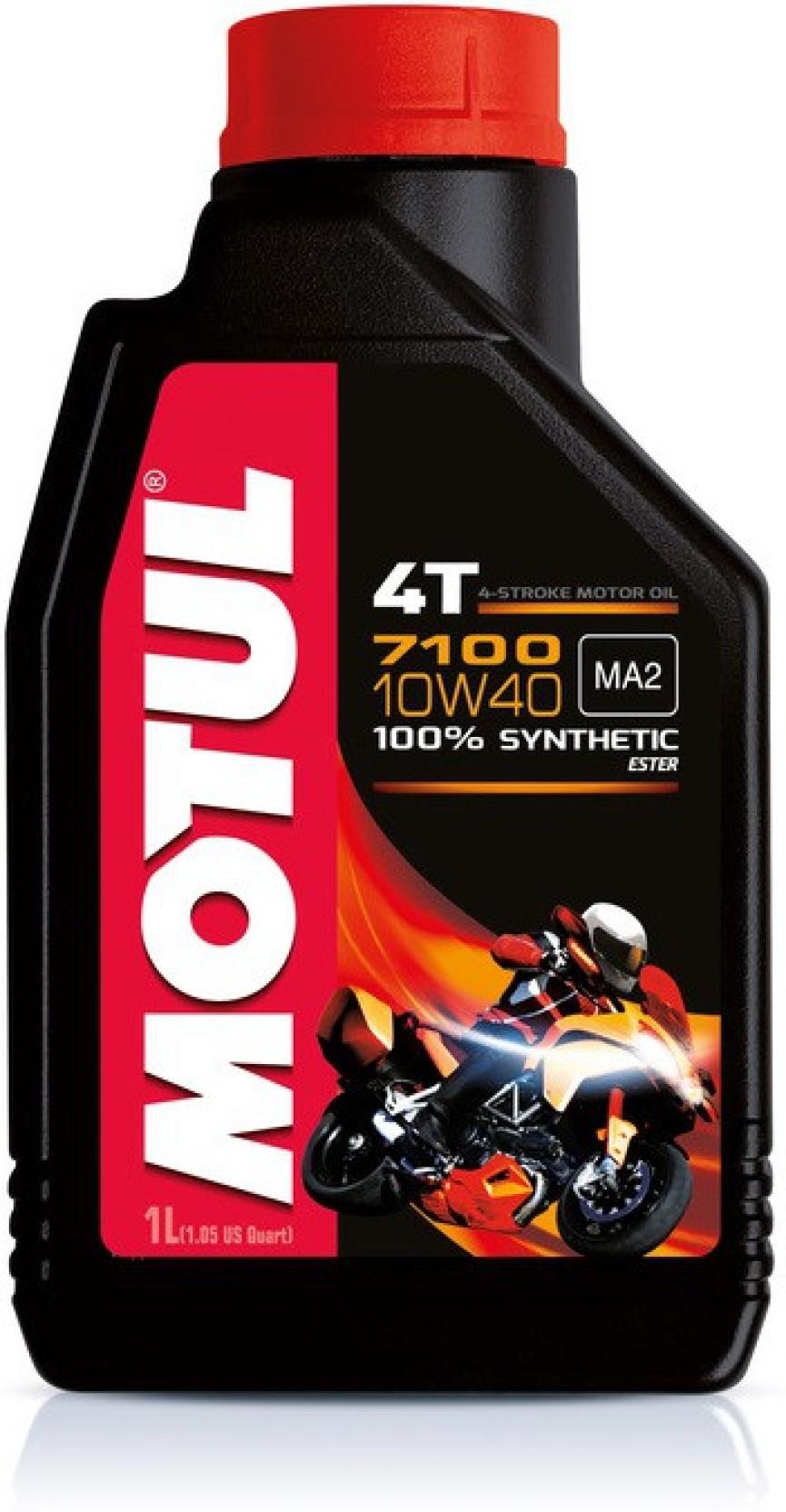 Motul 7100 4t 10w40 100 Synthetic Ester Motor Oil Price Yamalube Sport Add To Cart