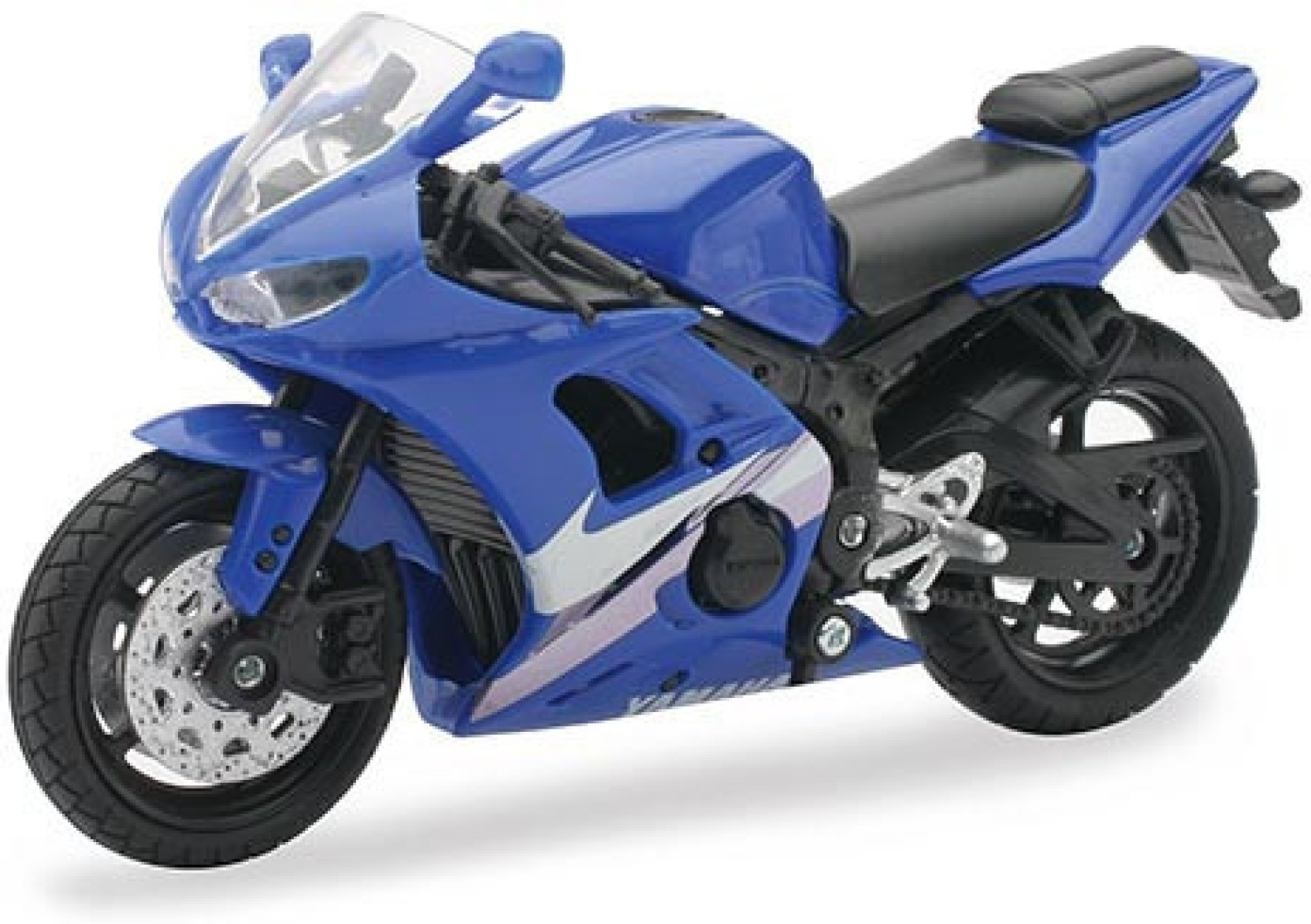 New ray yamaha yzf r6 1 18 scale diecast motorcycle for Yamaha motor credit card