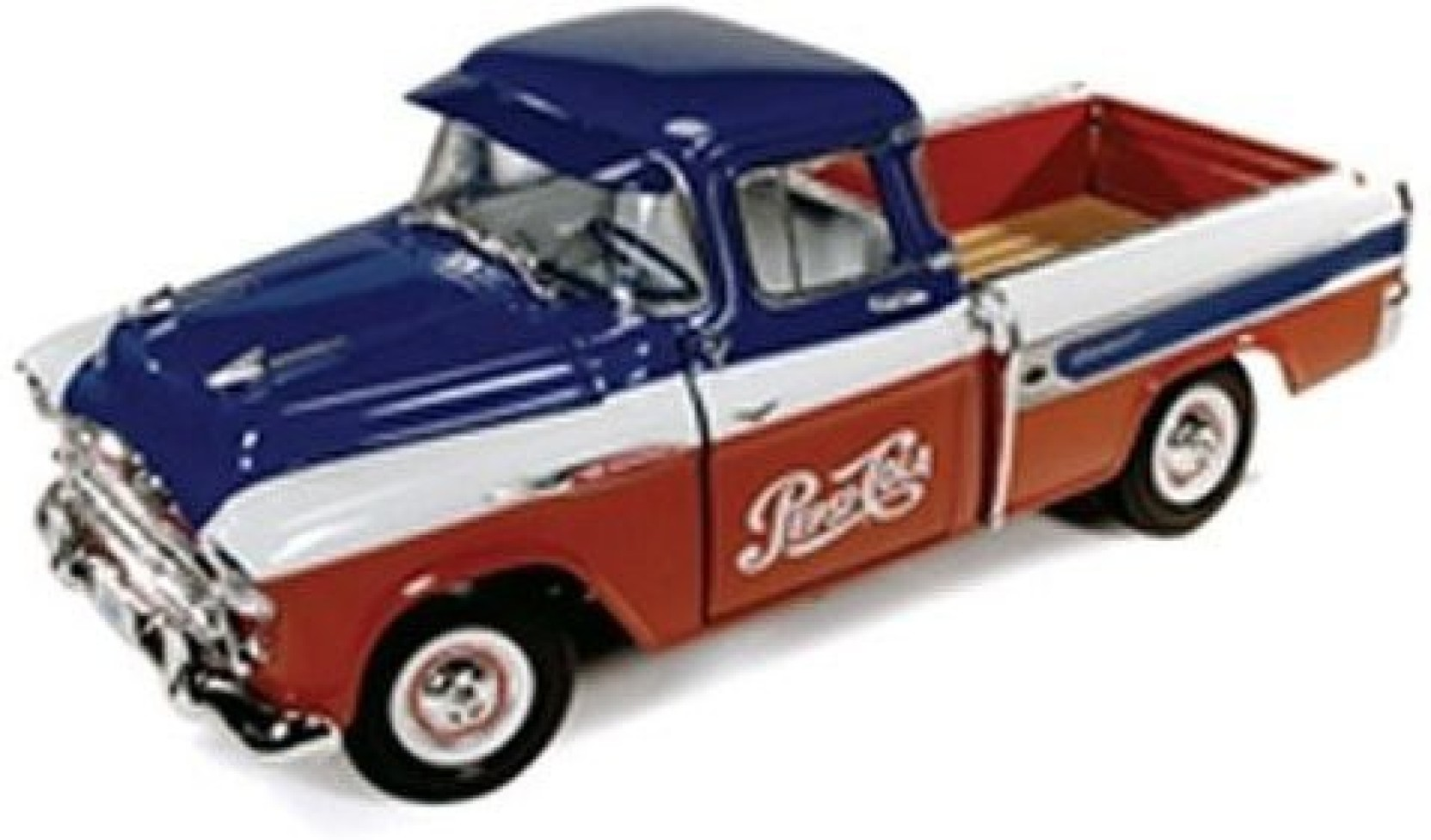 Auto World 1957 Chevrolet Pick Up Cameo Pepsi 118 Scale Diecast Share
