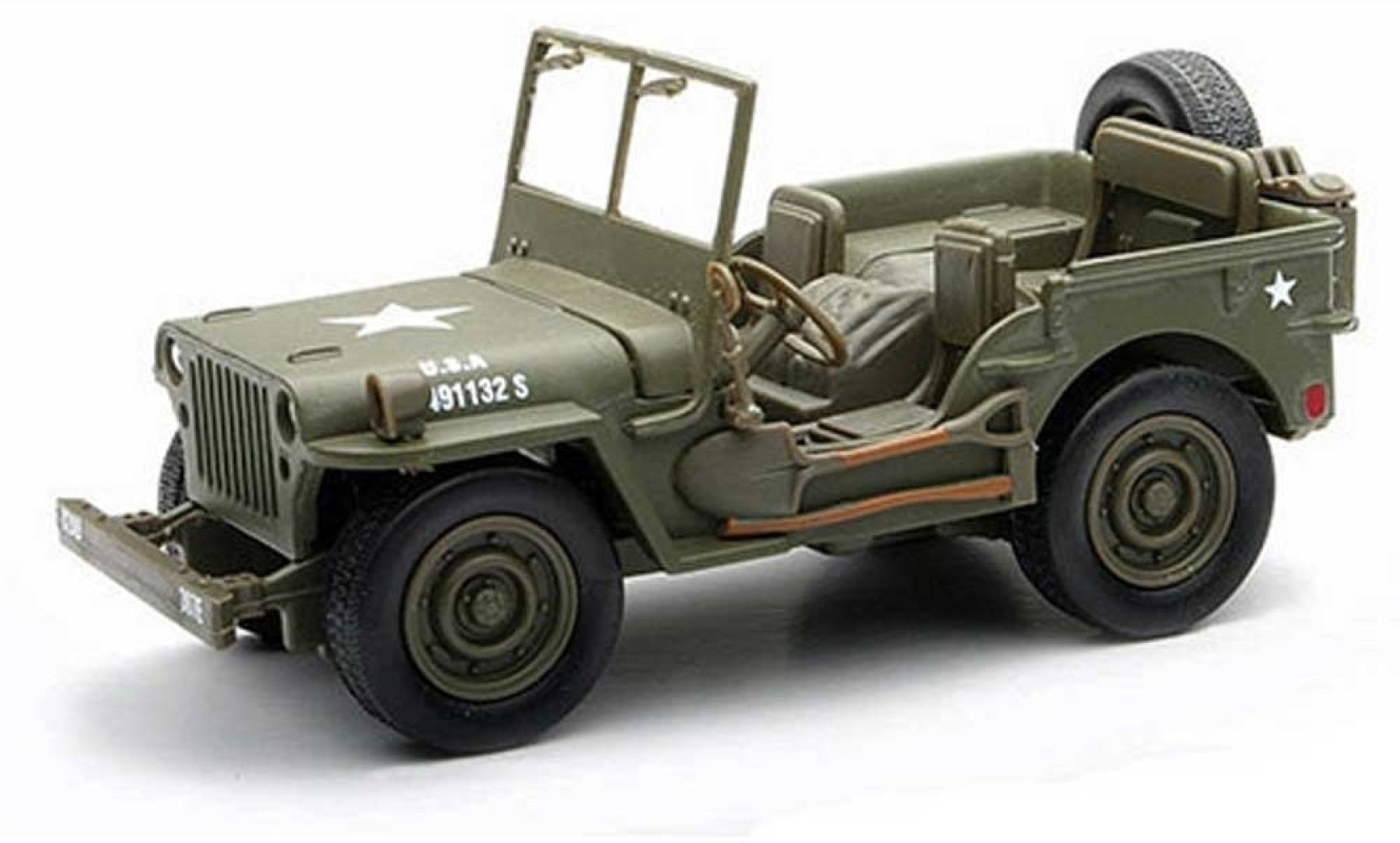 New Ray 1 32 City Cruiser Jeep Willys Diecast Model Car