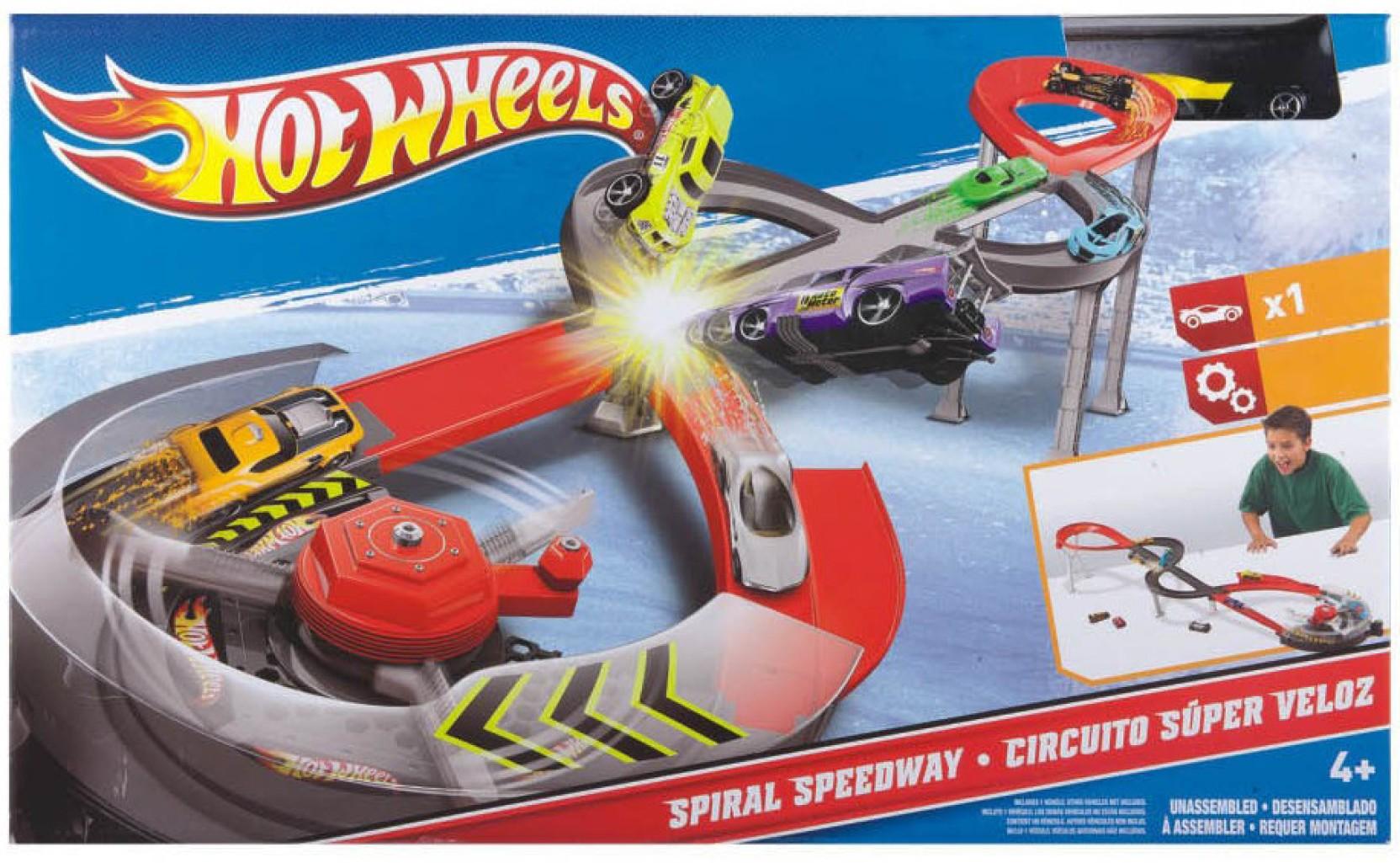 Circuito Hot Wheels : Hot wheels spiral speedway set spiral speedway set shop for
