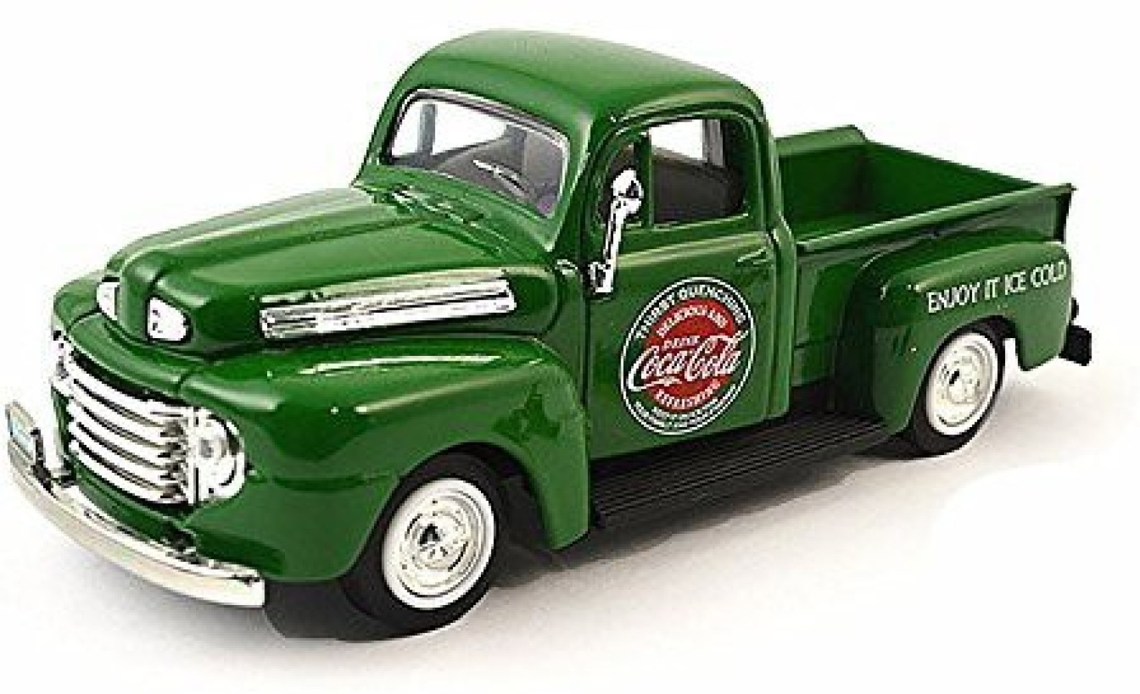 Motor City Classics 1948 Ford Pickup Truck Coca Cola With Coke Bottle Cases And Hand Cart Share