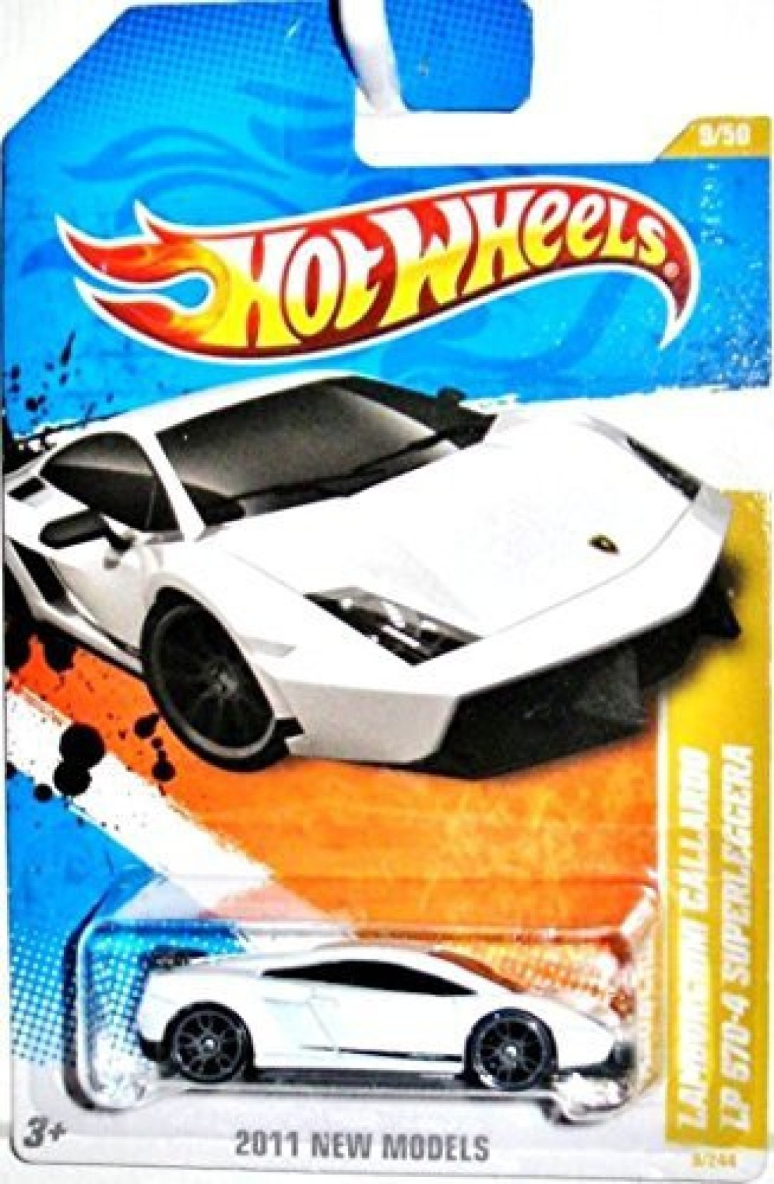 Hot Wheels Lamborghini Gallardo Lp 5704 Superleggera White 2011 9 Estoque 244 Share