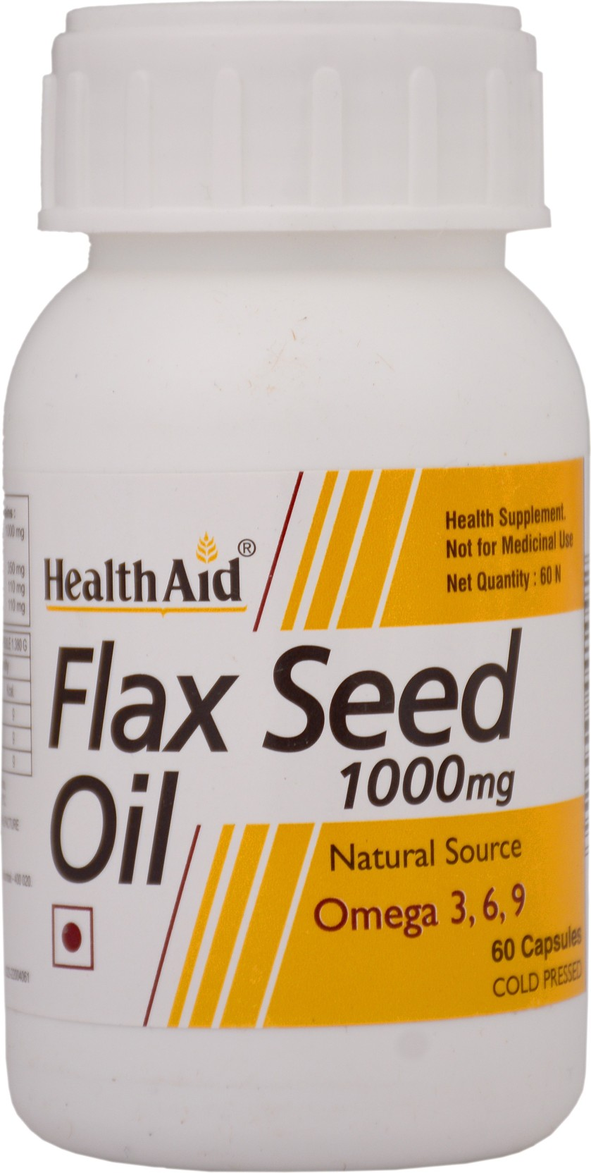 Healthaid Flax Seed Oil 1000mg Omega 3 6 9 Price In India Buy Healthy Care 369 200 Caps Share