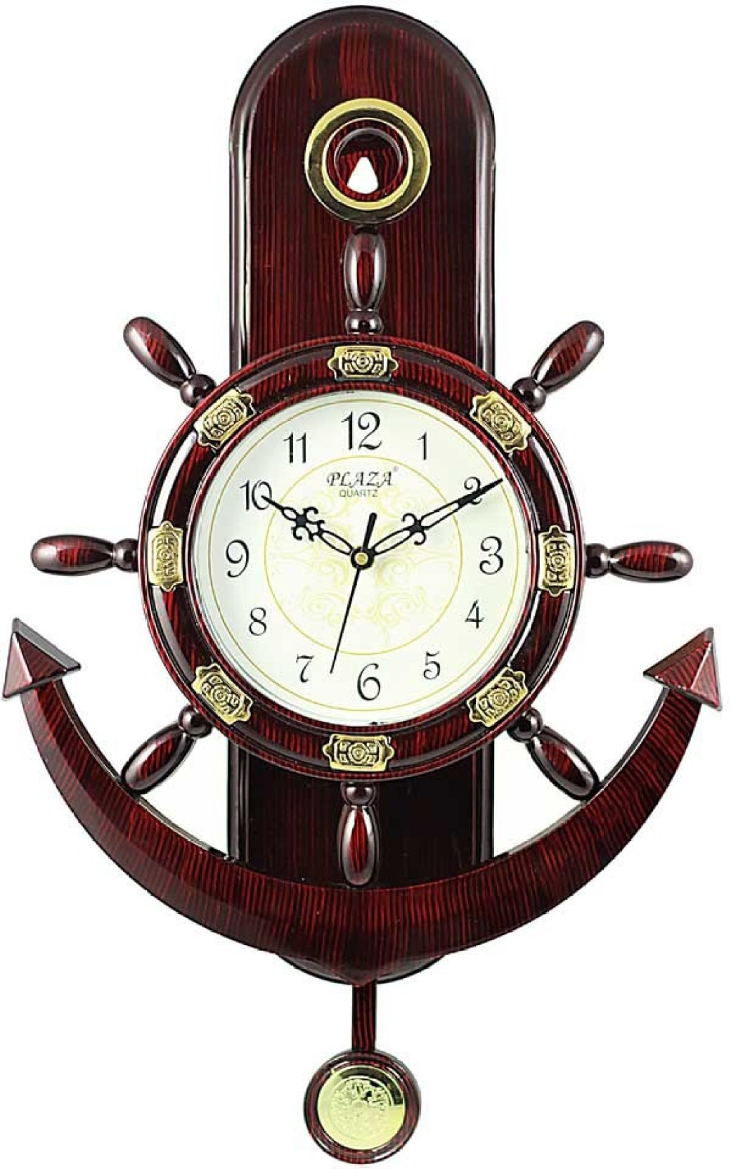A A Plaza Pendulum Wall Clock Analog Wall Clock Price In