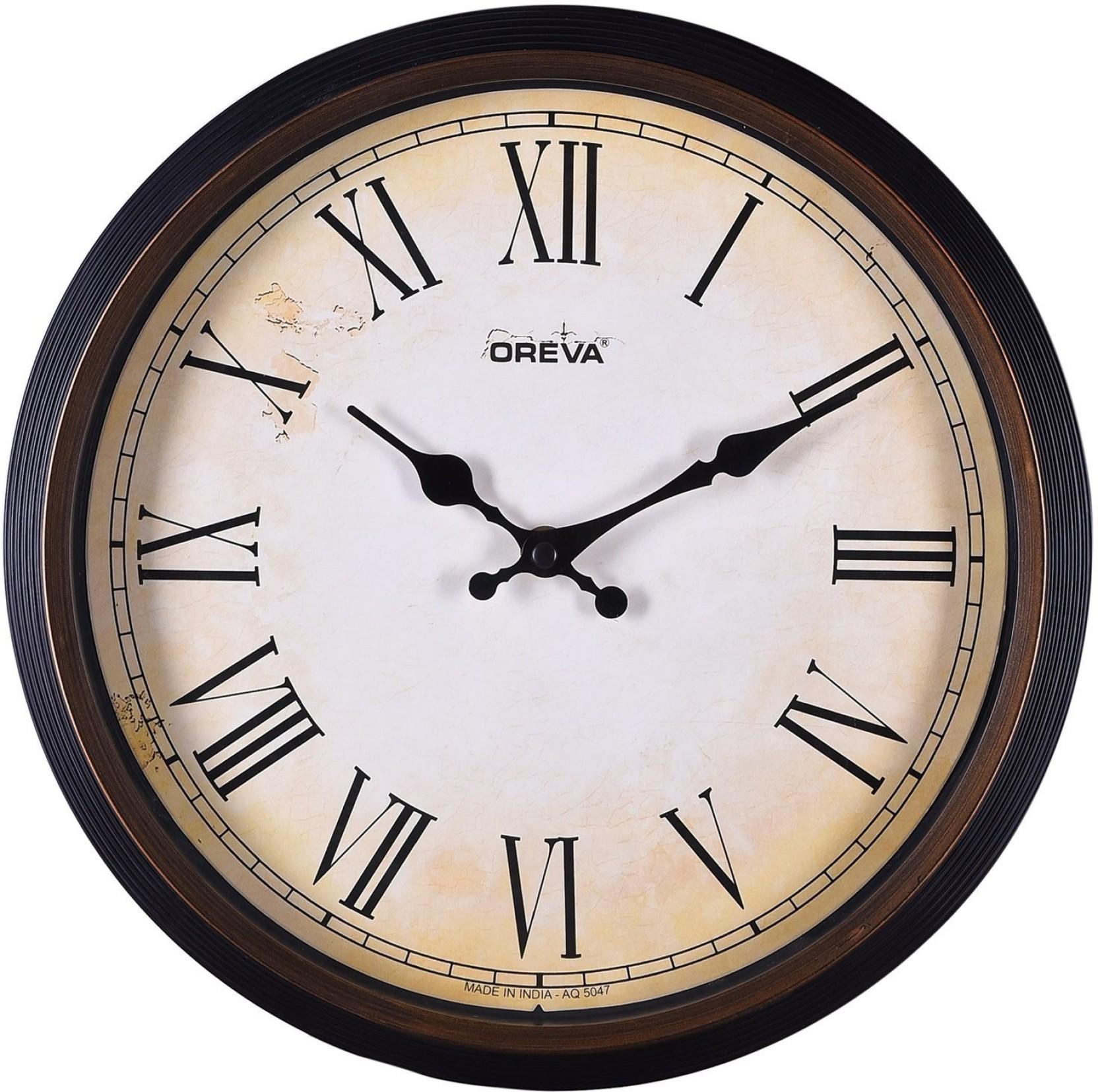 Oreva ajanta analog wall clock price in india buy oreva ajanta oreva ajanta analog wall clock add to cart amipublicfo Images