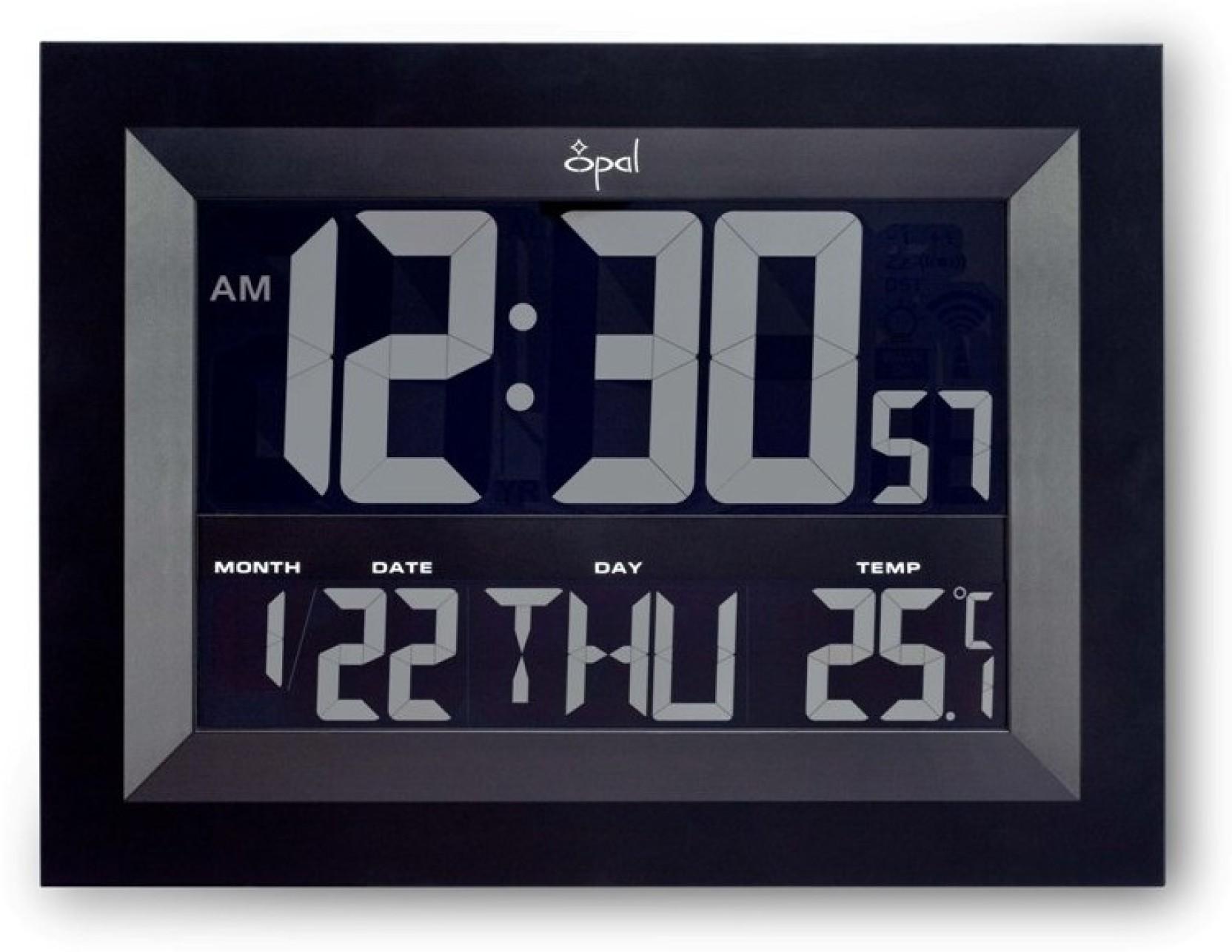 Opal Digital Wall Clock Price in India - Buy Opal Digital Wall Clock online at Flipkart.com