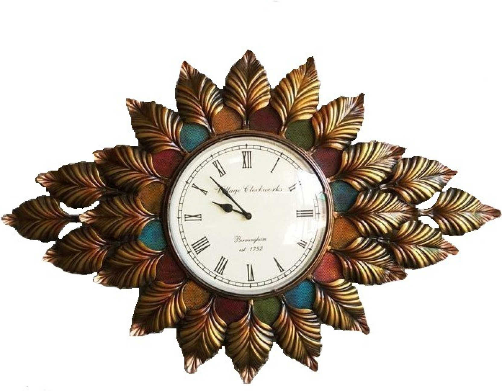 Village Clock works Analog Wall Clock Price in India - Buy Village Clock works Analog Wall Clock ...