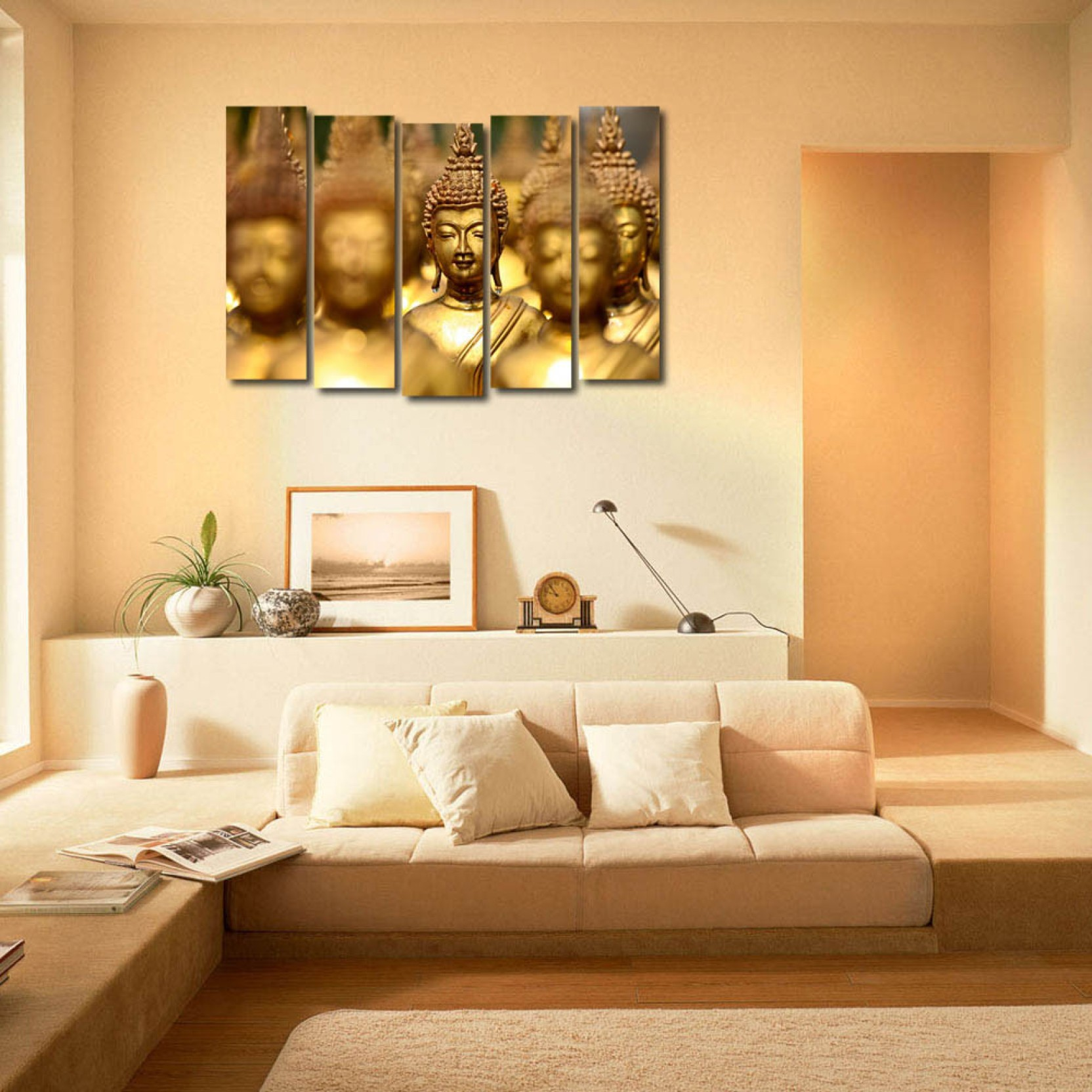 999 Store Multiple Frames Printed Buddha like Modern Wall Art ...