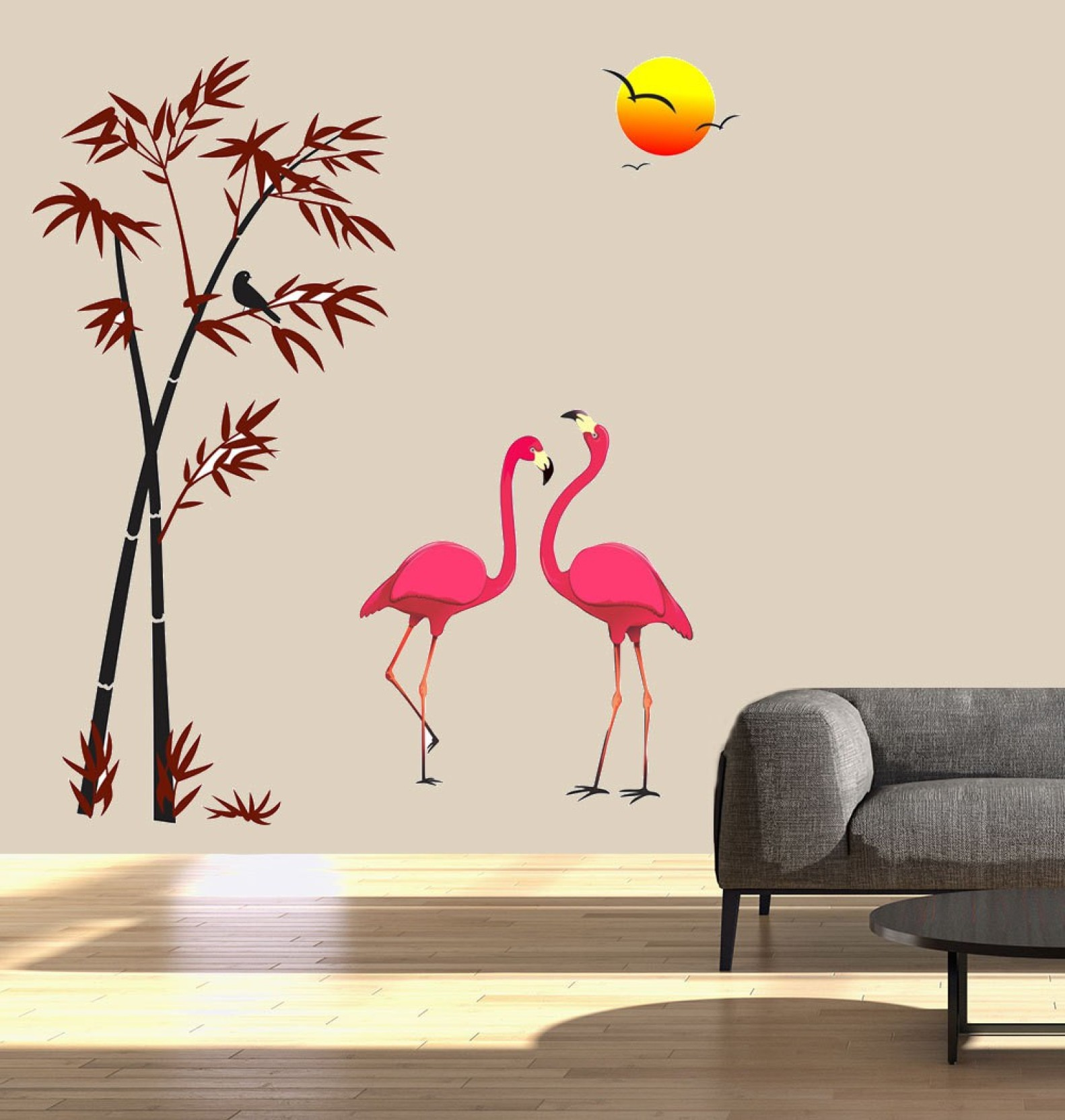 New way decals wall sticker fantasy wallpaper price in for 3d wallpaper for bedroom wall india