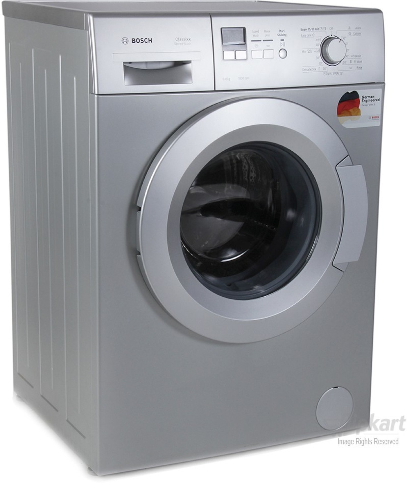 Bosch 6 kg Fully Automatic Front Load Washing Machine. Home