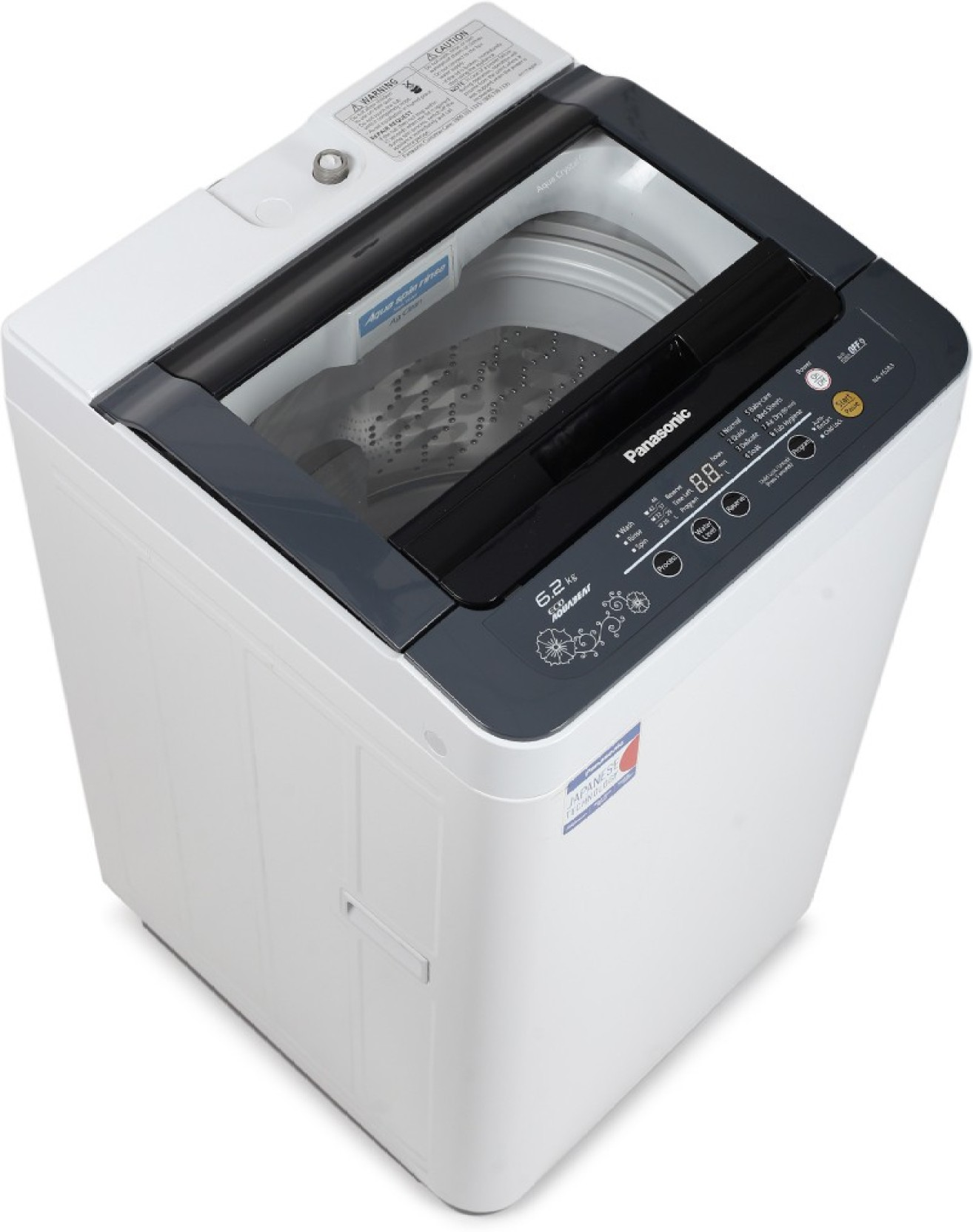 Panasonic 6 2 Kg Fully Automatic Top Load Washing Machine