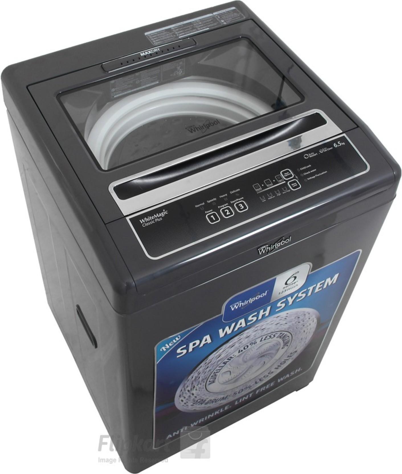 whirlpool washing machine in india