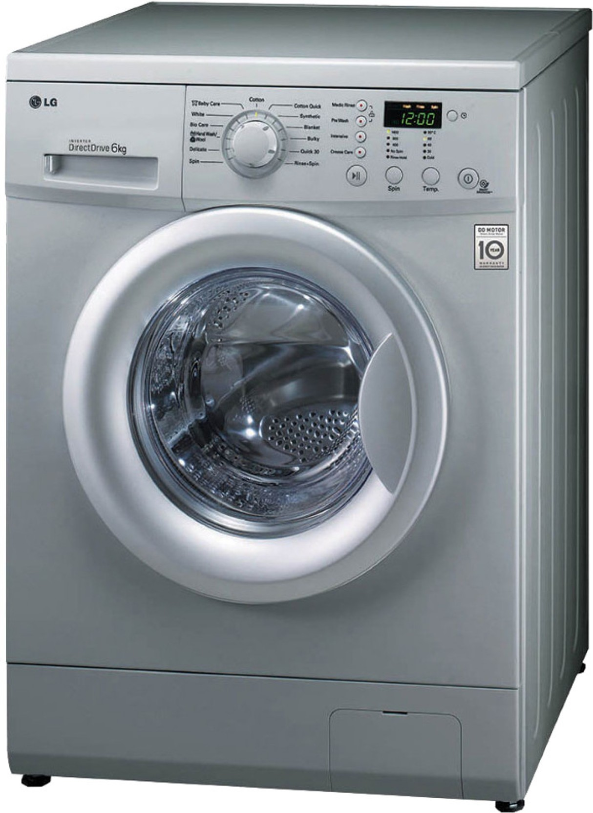 LG 6 kg Fully Automatic Front Load Washing Machine Price ...