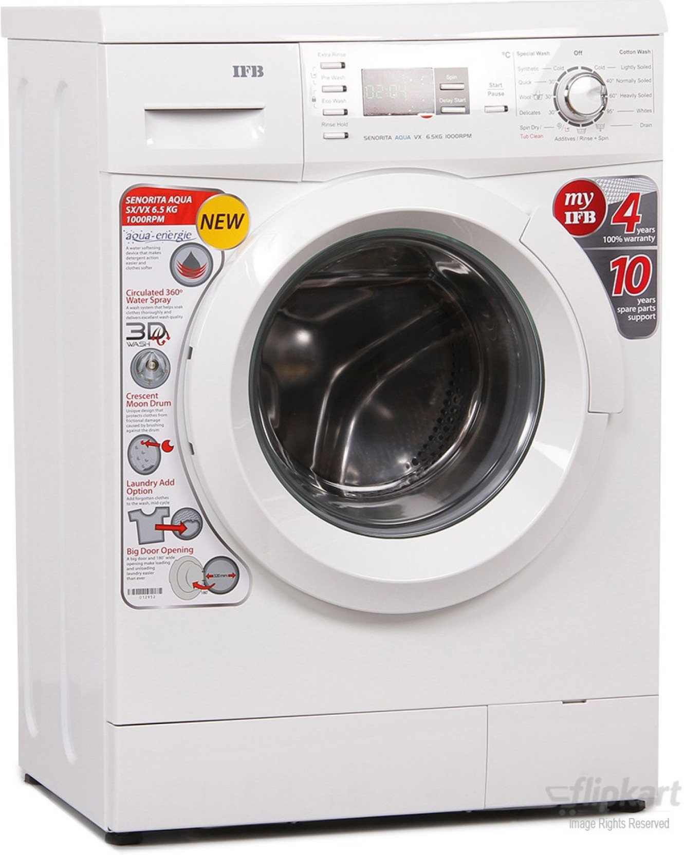 Ifb 6 5 Kg Fully Automatic Front Load Washing Machine Price In India