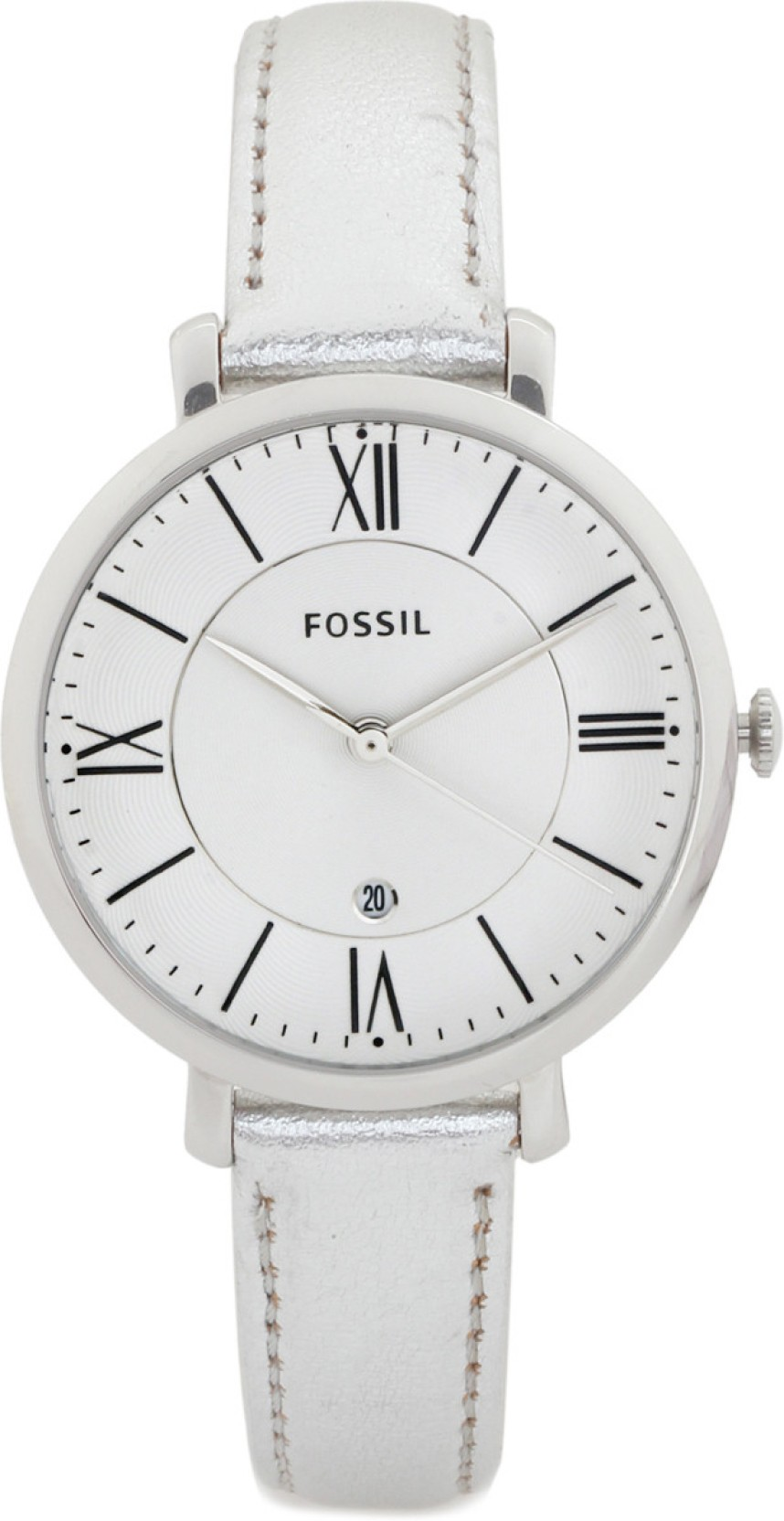 Fossil Es3436 Jacqueline Watch For Women Buy Es3707 Gray Leather Rose Gold Home
