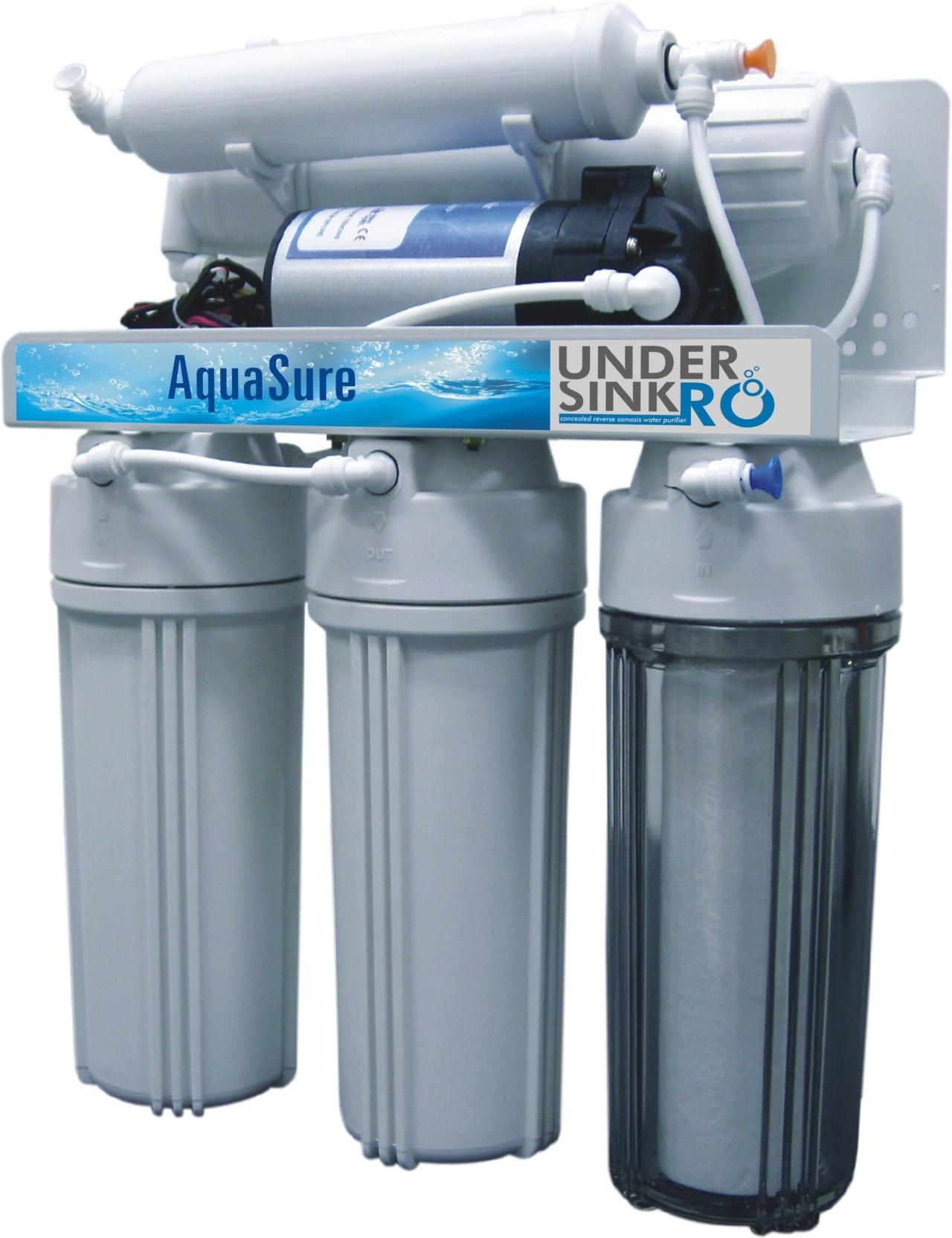 Eureka Forbes Aquasure Under Sink RO 14 L RO Water Purifier - Eureka ...