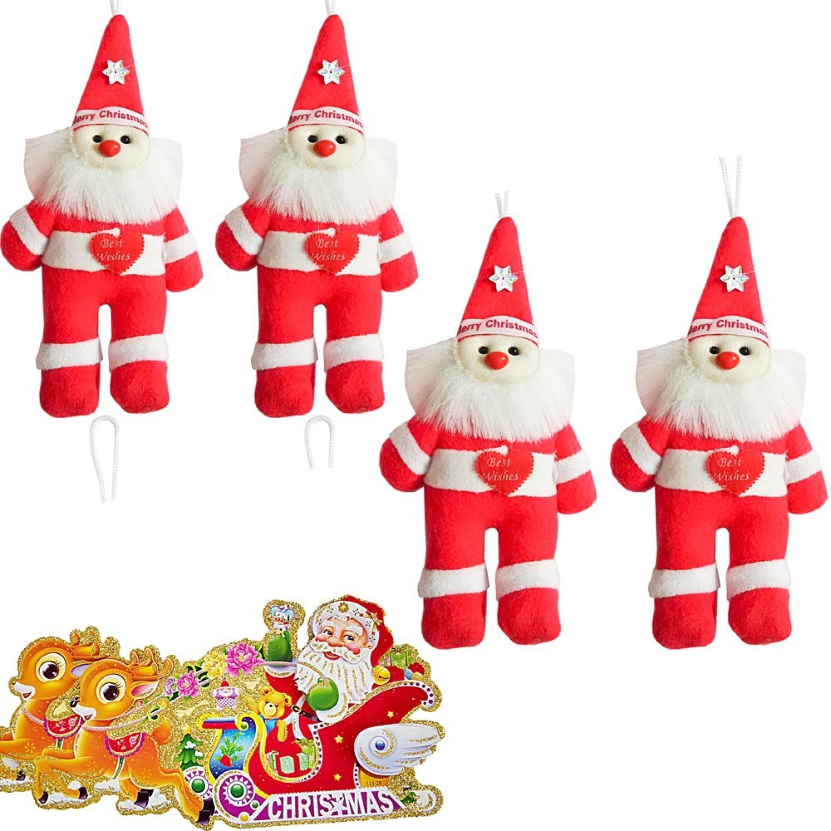 Indiangiftemporium Christmas Tree Decoration Set Price in India ...