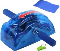 Magnusdeal Health & Fitness Ab Abdominal Stomach Tone Exercise Roller Workout Slider Ab Exerciser(Blue)
