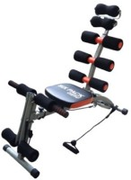 J&D Sales Six Pack Ab Exerciser(Black)