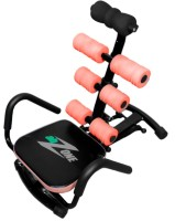 Telebrands Ab Zone Flex Ab Exerciser(Orange, Black)