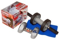 WOMS roller Ab Exerciser(Multicolor)