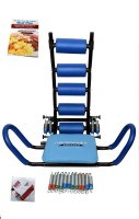 Ab Rocket Twister Platinum Abrocket Twister Machine Portable Ab Exerciser(Blue)