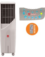View Cello Tower 25 Plus Room Air Cooler(White, 25 Litres)  Price Online