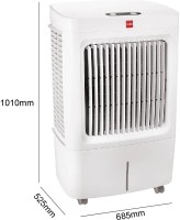 Cello Osum 50 Plus Room Air Cooler(White, 50 Litres)