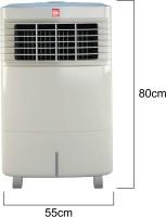 Cello Trendy Plus 30 Room Air Cooler(White, 50 Litres)   Air Cooler  (Cello)